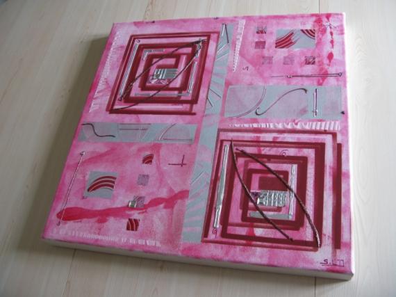tableau gris et rose latest feeby frames tableau mural tableau dco tableau imprim tableau deco. Black Bedroom Furniture Sets. Home Design Ideas