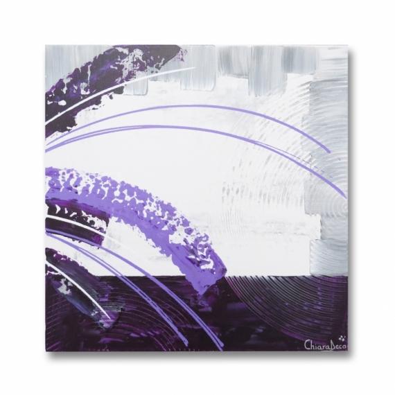 Peinture gris mauve dco cuisine prune with peinture gris mauve great chambre peinture gris - Carre blanc chaux ...