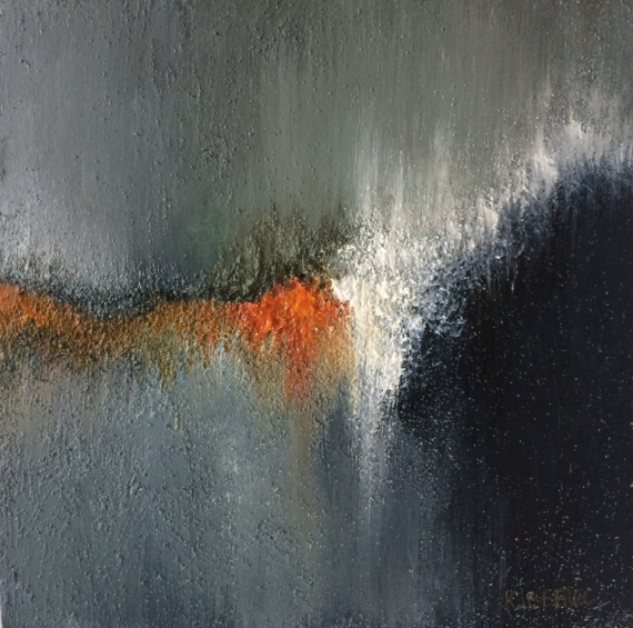 Peinture abstraite acrylique et techniques mixtes gn94 for Galerie art abstrait