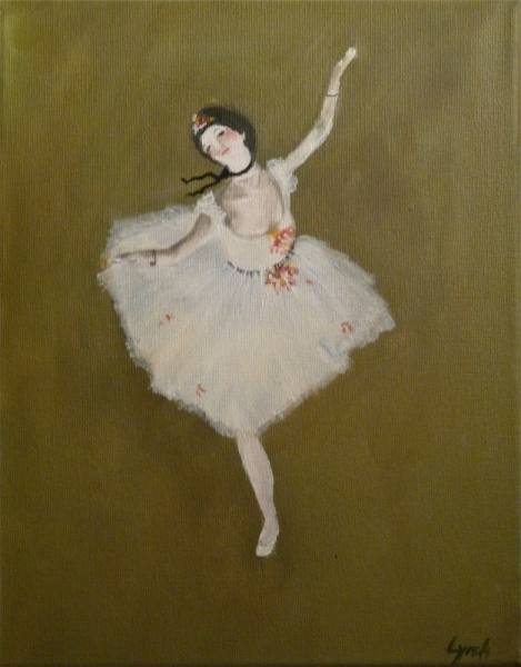 tableau peinture degas danseuse ballet danseuse. Black Bedroom Furniture Sets. Home Design Ideas