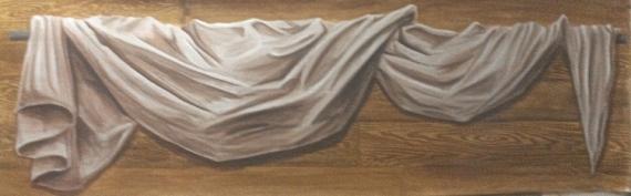 tableau peinture drap voilage t te de lit bois drap. Black Bedroom Furniture Sets. Home Design Ideas