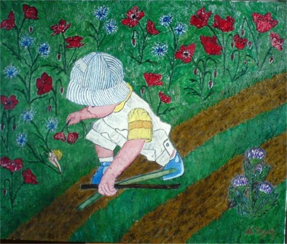 Naif Artiste Peintre L'