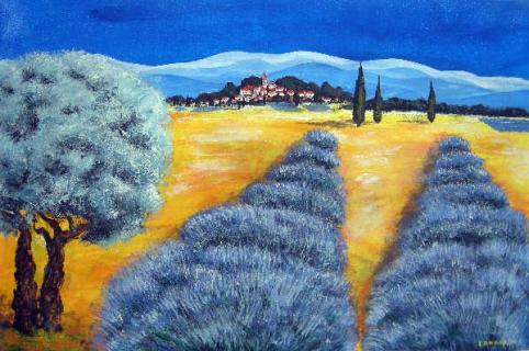 Pin peinture lavande on pinterest for Bineau peinture