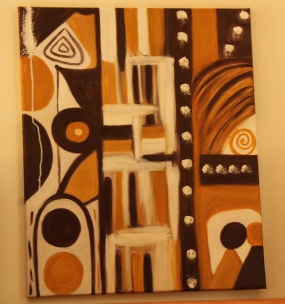 art africain abstrait