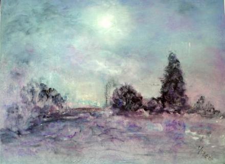 Tableau peinture gris mauve for Peinture gris mauve