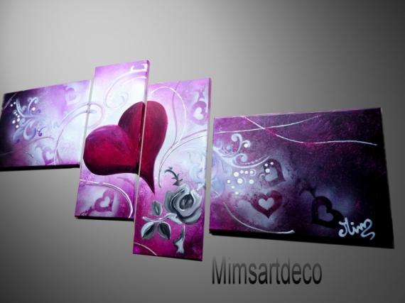 Tableau peinture peinture abstraite tableau design conte for Tableau peinture moderne design
