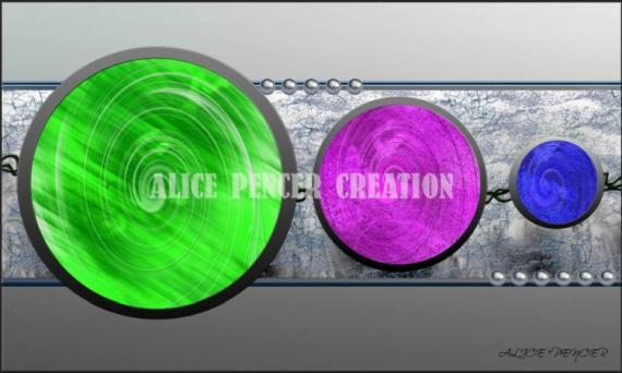tableau peinture ronds couleurs perles tableau abstrait circles colors - Tableaux Abstraits Colors