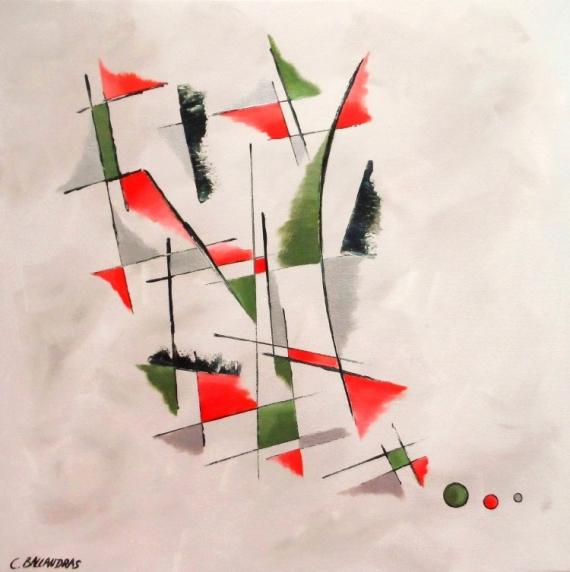 Bien connu Tableau Peinture Géométrique - Galerie-Creation OS79