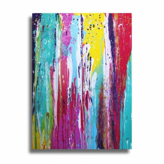 Tableau peinture tableau color design splash tableau for Tableau design colore