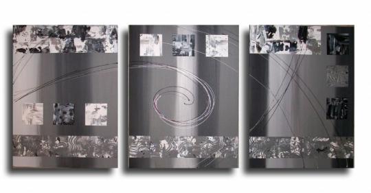art abstrait noir et blanc. Black Bedroom Furniture Sets. Home Design Ideas