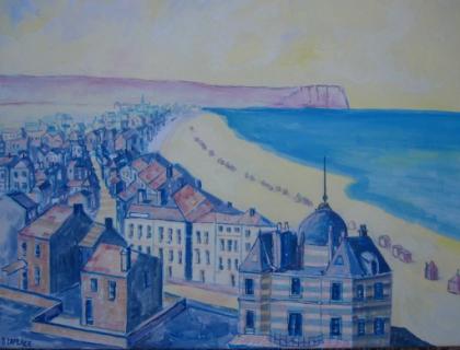 pin tableau peinture mer - photo #40