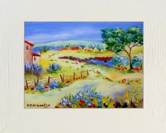 D coration tableau peinture couteau avignon 13 for Decoration tableau peinture