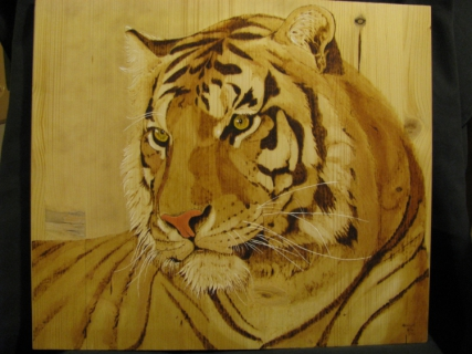 tableau peinture tigre animaux f lins portrait tigre. Black Bedroom Furniture Sets. Home Design Ideas