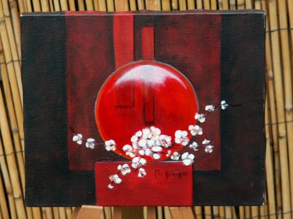 Tableau peinture zen 2 - Tableau peinture zen ...
