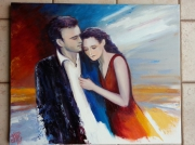 tableau personnages amour : couple