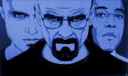tableau personnages breaking bad walter white jesse pinkman gustavo fring : Breaking Bad