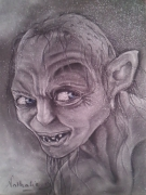 tableau personnages : gollum...