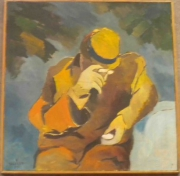 tableau personnages l homme 1993 grigor nalband : L'homme