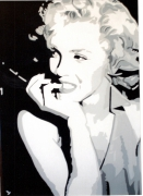 tableau personnages marilyn actrice cnema etats unis : NORMA JEANE MORTENSON