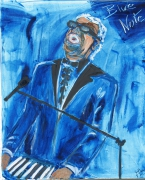 tableau personnages ray charles jazz blue note : Ray Charles