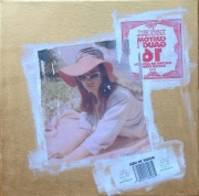 tableau personnages sur toile 30 x 30 cm lana del rey product achat buy pa collage artist : lana del rey honeymoon