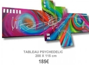 tableau : TABLEAU DESIGN PSYCHEDELIC