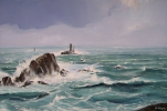 Tableaux d'art - Grand vent sur la pointe du Raz