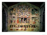 The Tree of Life and the Last Supper, 1360 - Taddeo Gaddi
