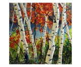 Birch And Maple Trees - Takeyce Walter