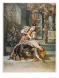 The Merry Widow, Danilo and the Widowed Sonia Make Friends - Talbot Hughes