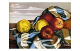 Still Life with Apples and Lemons - Tamara de Lempicka