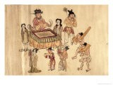 Transgressors Judged by the King of Hell in Hades For the Sins Committed in Their Lifetime - Tang Dynasty Chinese School