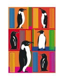 Patchwork Penguins - Tanya Trevor
