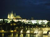 An Evening View of the Skyline of Old Prague - Taylor S. Kennedy
