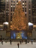 Rockefeller Center and the Famous Christmas Tree,Rink and Decoration, New York City, New York - Taylor S. Kennedy
