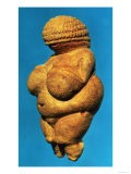 The Venus of Willendorf, Side View of Female Figurine, Gravettian Culture Upper Palaeolithic Period