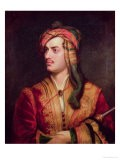 Portrait of George Gordon 6th Baron Byron of Rochdale in Albanian Dress, 1813 - Thomas Phillips