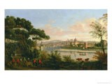 View of Florence from the Cascine - Vanvitelli (Gaspar van Wittel)