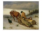 Seeing off the Dead, 1865 - Vasili Grigorevich Perov
