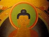 Buddha on a Thanka Painting, Tibet - Vassi Koutsaftis