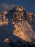Mt. Everest at Sunset From Rongbuk, Tibet - Vassi Koutsaftis