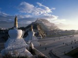 Potala at Sunrise, Lhasa, Tibet - Vassi Koutsaftis