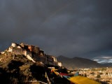 Potala at Sunset, Lhasa, Tibet - Vassi Koutsaftis