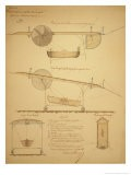 Design for Powering an Airship, c.1853 - Vaussin-chardanne