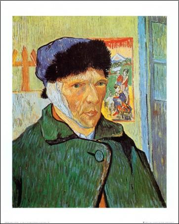Vincent van gogh 1853 1890 forum fr - Van gogh autoportrait oreille coupee ...