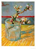 Blossoming Almond Branch in a Glass, c.1888 - Vincent van Gogh