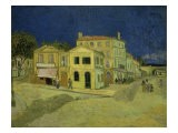 The Yellow House at Arles, c.1889 - Vincent van Gogh