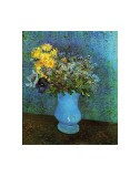Vase with Lilacs, Daisies and Anemone - Vincent van Gogh