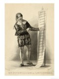 Don Giovanni' Fitzwilliam as Leporello Recites the List of the Don's Amorous Conquests - Wageman
