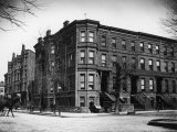 Brownstone Apartment Building at the Corner of Brooklyn Ave. and Pacific St - Wallace G. Levison